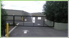 Storage Unit Gated Front
